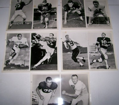 1960s-70s NBC TV College Football Advertising Photo Lot