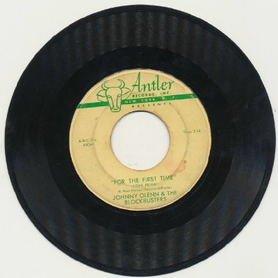For The First Time + My Sweetie Pie--Johnny Olenn & Blockbusters