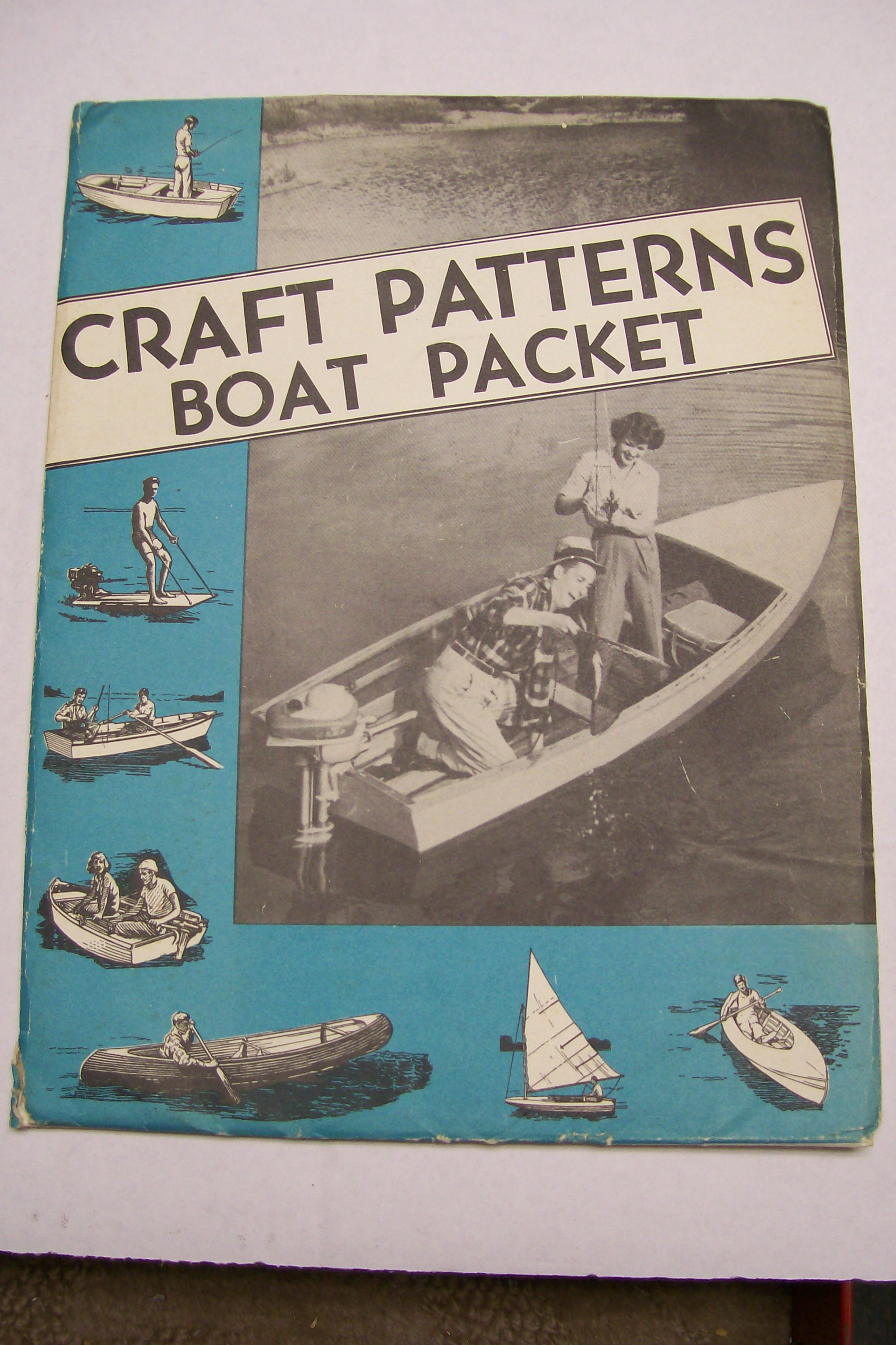 Craft Patterns/ Boat Packet Plans for 1949 Many Different boats