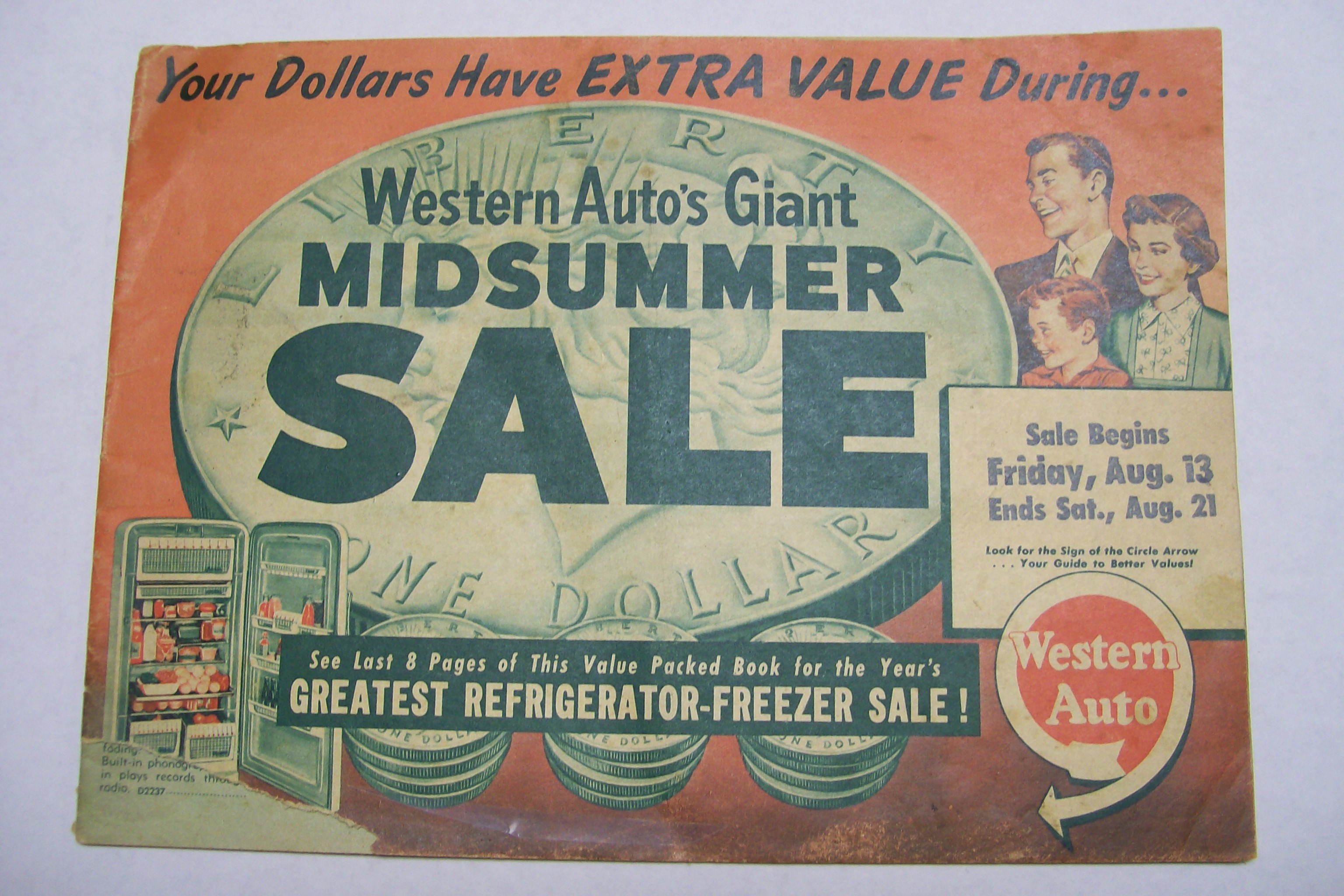 1954 Western Auto's Giant Midsummer Sale Catalog