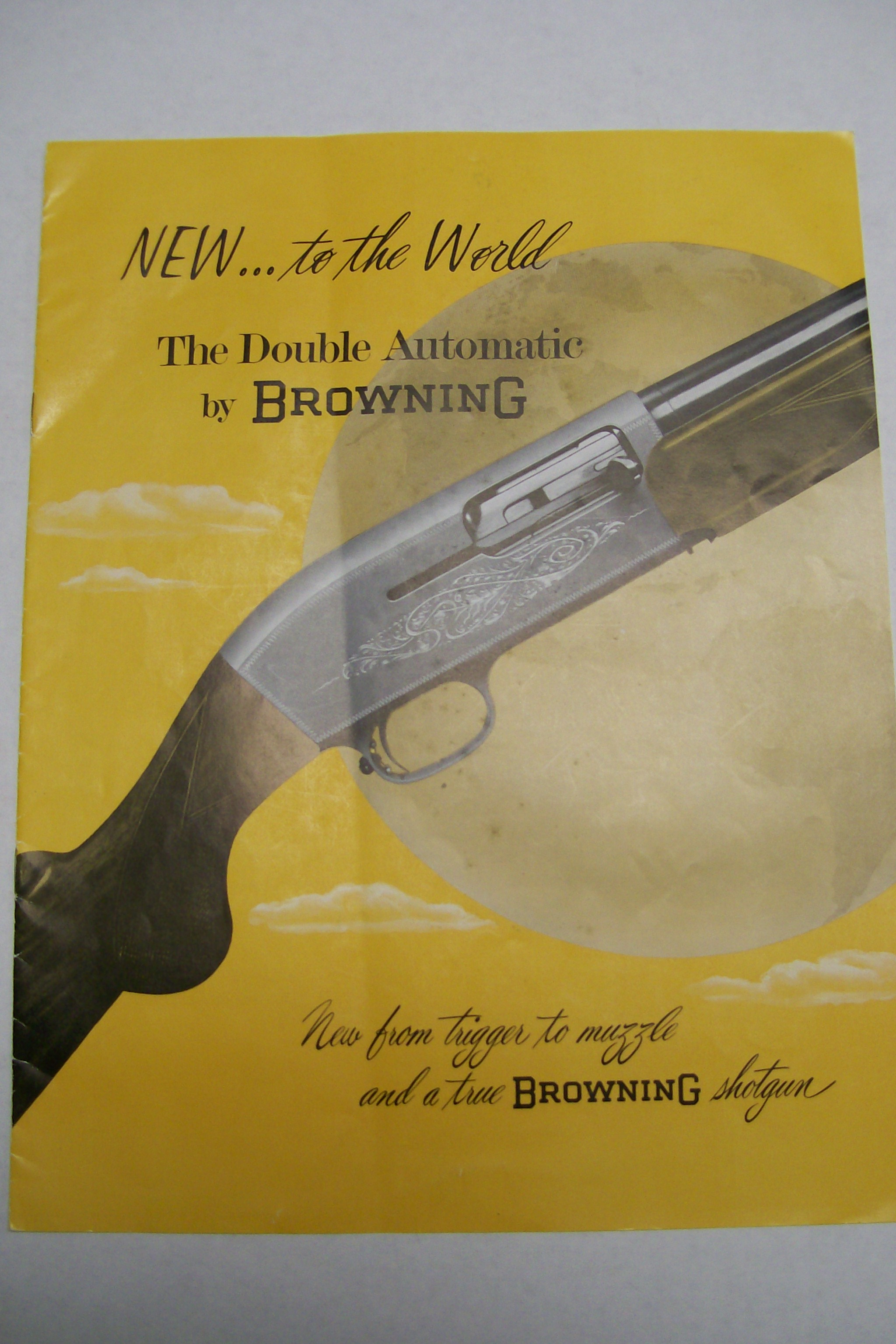 The Double Automatic Browning Shotgun Catalog 1957 Belgium