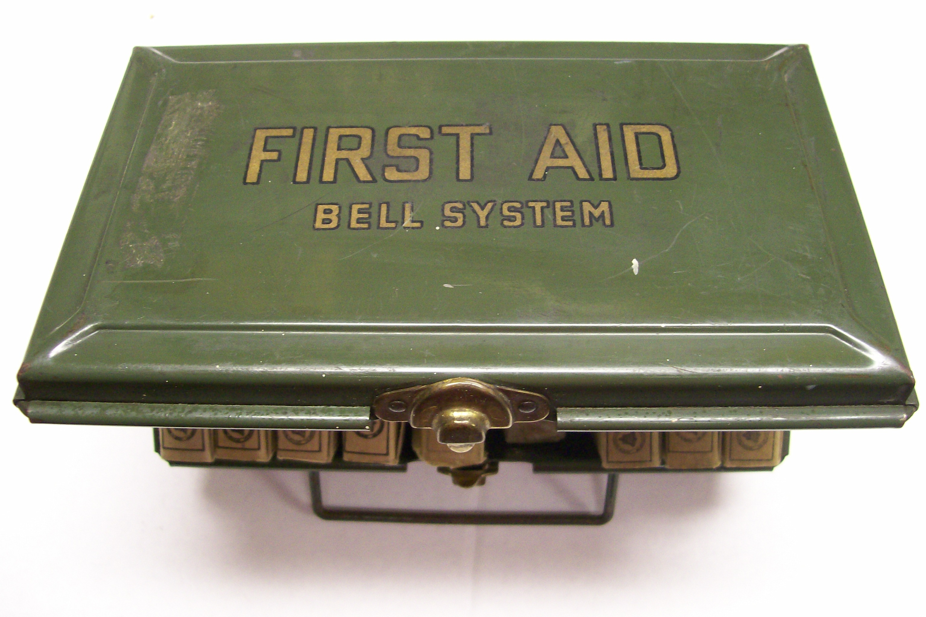 Bell System First Aid Kit Used on Bell Helicopters 1940's