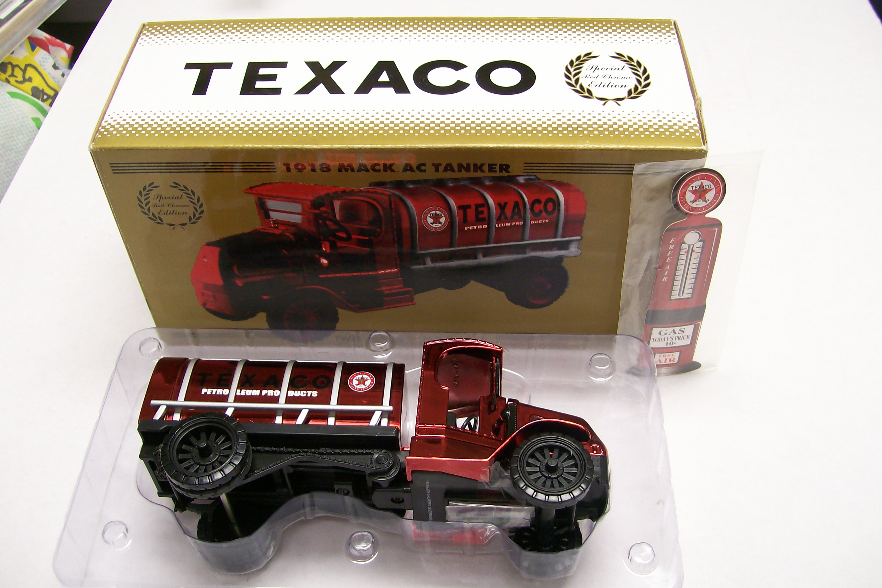 Texaco 1918 Mack Ac Tanker Special Edition Ertl 1/32 Scale