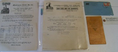 Vintage Fur Trapping Lot - Price Lists Shipping Tag Catalog +