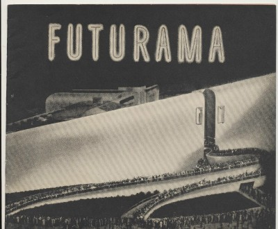 1939 NY World's Fair General Motors Futurama Souvenir Book