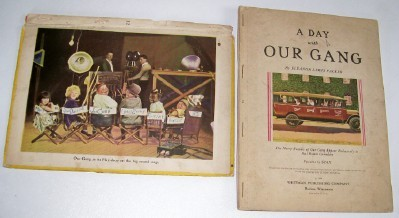 1929 Hal Roach Our Gang Movie Book With Frameable Prints