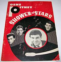 1965 Gene Pitney Rock & Roll Show Program -- 12 Stars