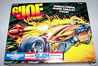 Vintage GI Joe Extreme Road Bullet Assault Cycle - NIB