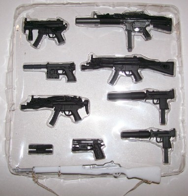 Vintage GI Joe 9-Piece Rifle Set NIB + Dress Parade Rifle
