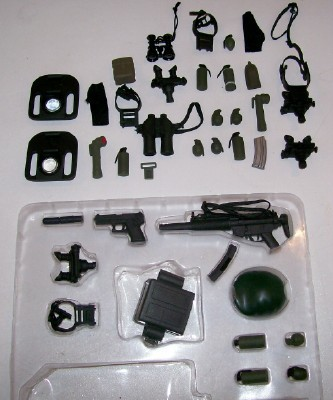 GI Joe Accessory & Weapon Lot Of 37 Pieces - Some NIB