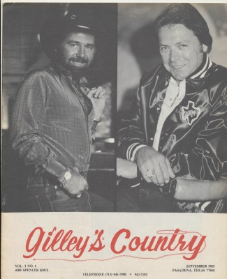 September 1983 Gilley's Country - Mickey Gilley Johnny Lee