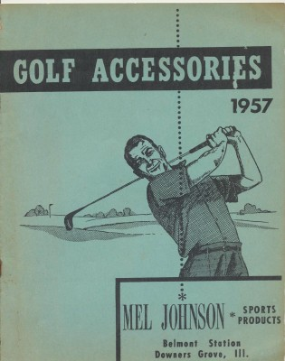 Vintage 1957 Golf Accessories Dealer Trade Catalog - Mel Johnson