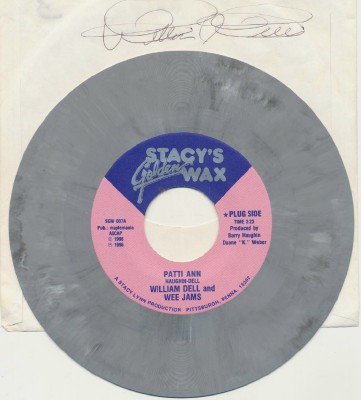 Patti Ann+SomethingOldSomethingNew--William Dell-Signed Gray Wax