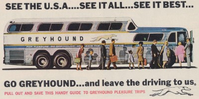 1960s Greyhound Bus Advertising Booklet