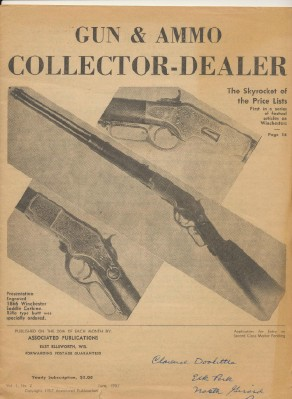 June 1957 Gun & Ammo Collector-Dealer - Vol 1 #2