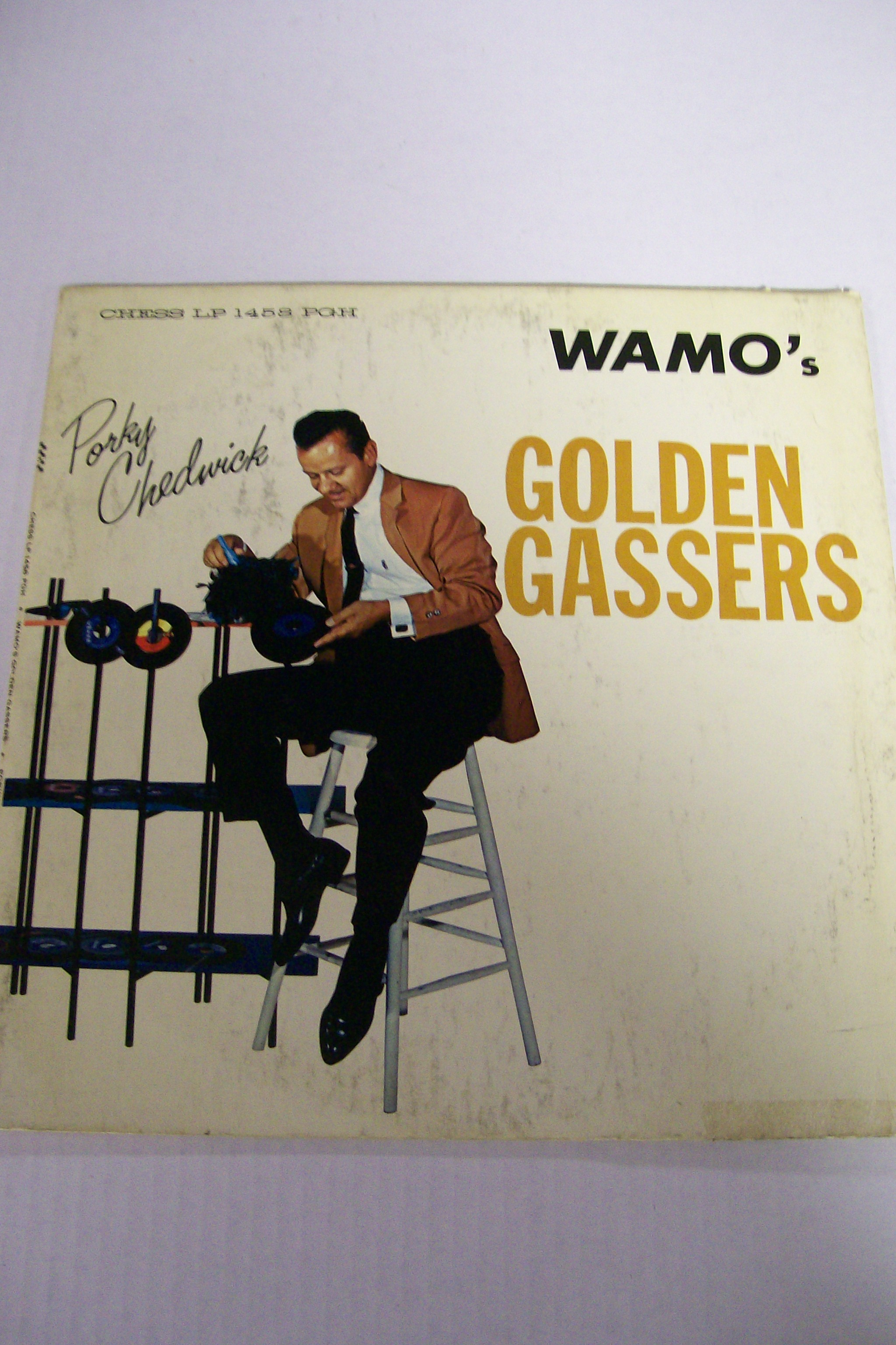Porky Chedwick Wamo's Golden Gassers Chess LP 1458 PGH.