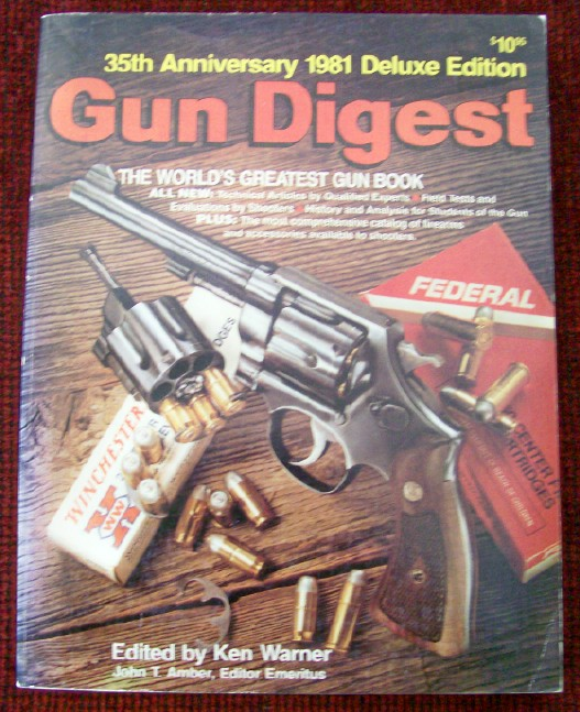 1981 Gun Digest - Deluxe Edition