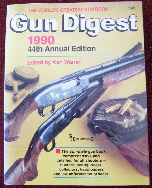 1990 Gun Digest - 44th Annual Editiion