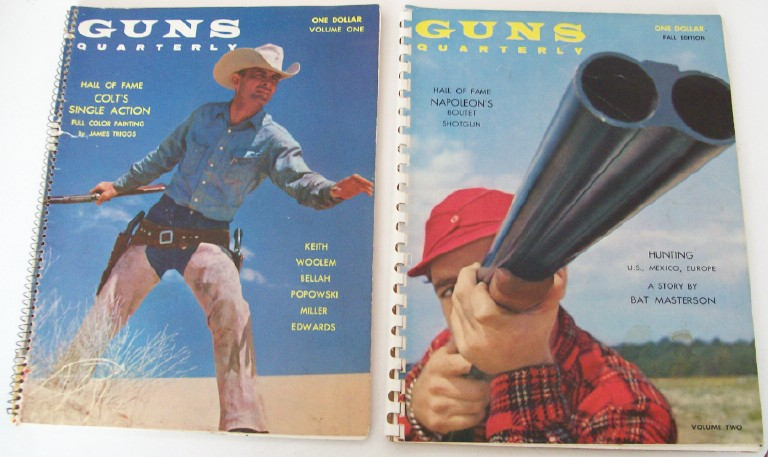 1960 Guns Quarterly Vol 1 & 2