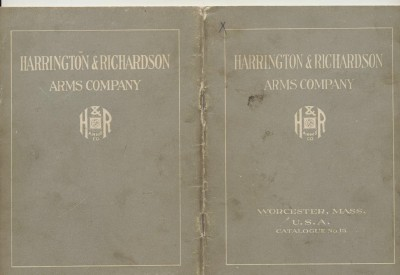1920 Harrington & Richardson Gun Catalog - H & R