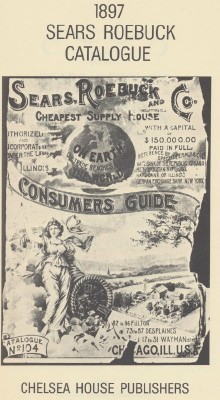 1897 Sears Roebuck Catalog - 1968 Hardcover Reprint