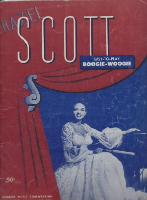 1944 Hazel Scott - How To Play Boogie Woogie - Music Book