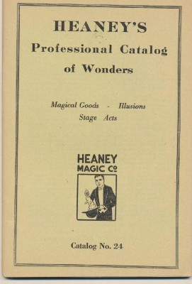 1930 Heaney's Professional Magic & Magician Supply Catalog