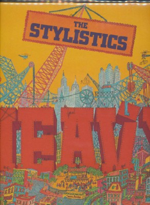 Heavy - The Stylistics - Avco #AV-69004-698