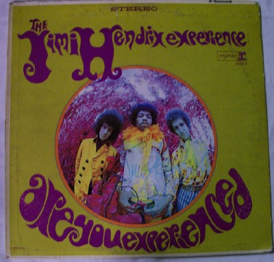 Jimi Hendrix Experience Are You Experienced LP - Autographed