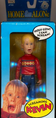 1991 Screaming Kevin Macaulay Culkin Home Alone Doll NIB