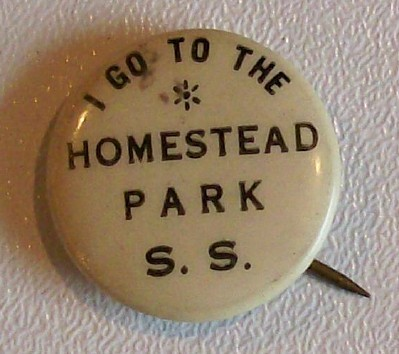 Rare Fischel Homestead Park South Side Pittsburgh Pin