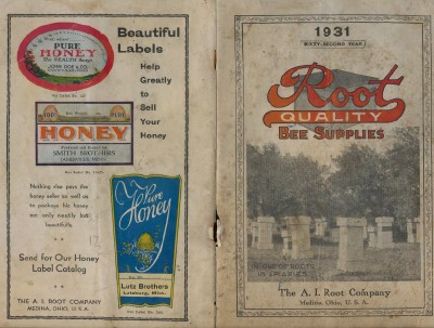 1931 Apiary Bee Beekeeping Supply Catalog - A I Root Company