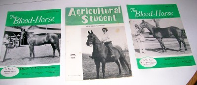 Vintage Thoroughbred Breeder Horse Racing Magazine Lot