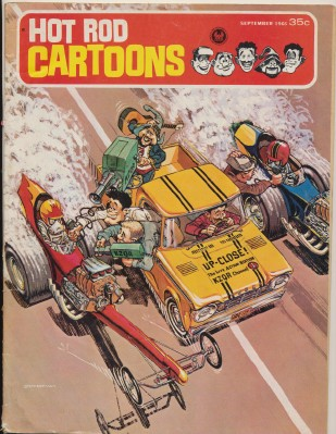 September 1966 #12 Hot Rod Cartoons Comic Book