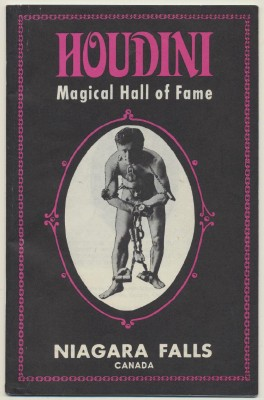Houdini Biography By Magical Hall Of Fame