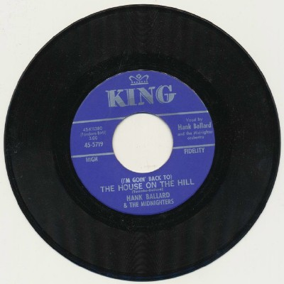 The House On The Hill + That Low Down Move - Hank Ballard