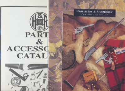 1994 Harrington & Richardson Gun & Parts Catalogs + Dealer Info