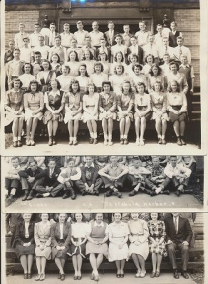 3 Vintage Photos Of HS Classes & Teachers - Ashtabula Harbor OH