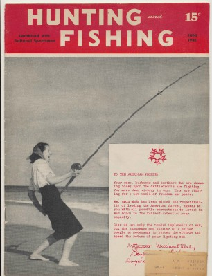 June 1945 Hunting & Fishing National Sportsman Magazine