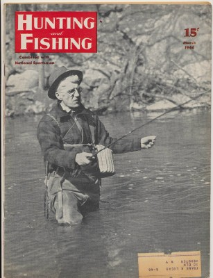 March 1946 Hunting & Fishing National Sportsman Mag - Hip Wading