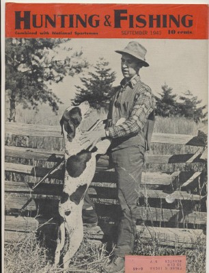 September 1943 Hunting & Fishing National Sportsman Magazine