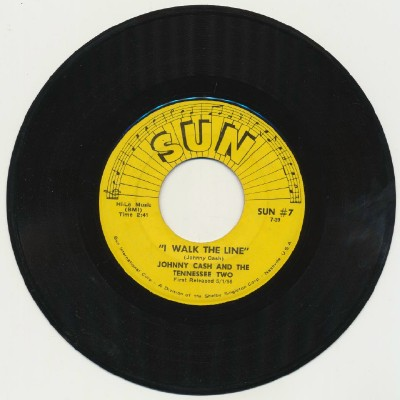 I Walk The Line + Get Rhythm - Johnny Cash & The Tennessee Two