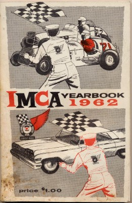 1962 IMCA Yearbook - Sprint & Stock Car 1961 Racing Season