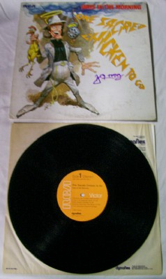 One Sacred Chicken To Go LP Autographed By Don Imus