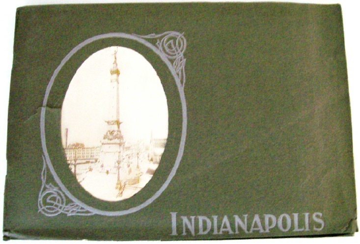 1910 Indianapolis IN Photo Book By Van Camp Company