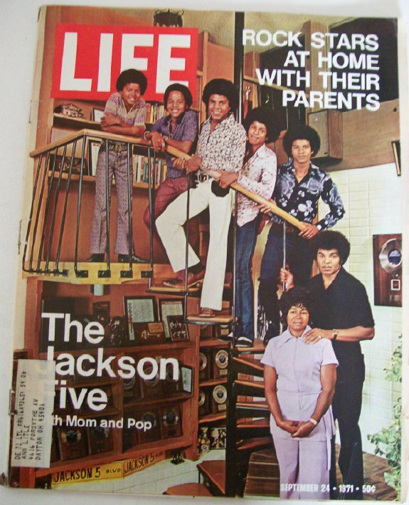 1971 Life Magazine--Michael Jackson & Jackson Five Cover Feature