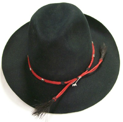 James Dean Western Hat By John B. Stetson/Has horsehair hat band