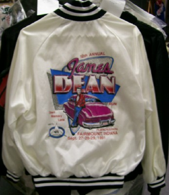 1991 James Dean Run Jacket - Cluster Busters Hot Rod Club