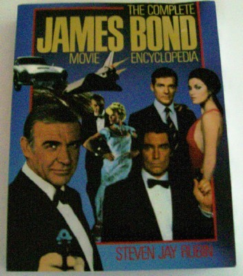 James Bond 007 Movie Encyclopedia Author Autographed 467 Pages