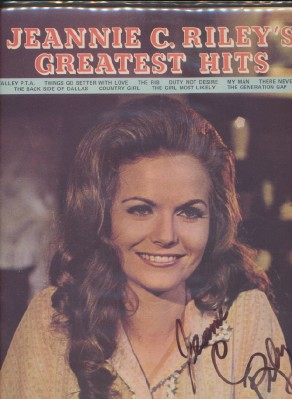 Jeannie C Riley's Greatest Hits - Autographed